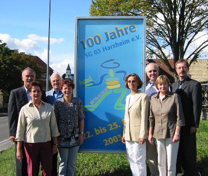 Das Orgateam 2003